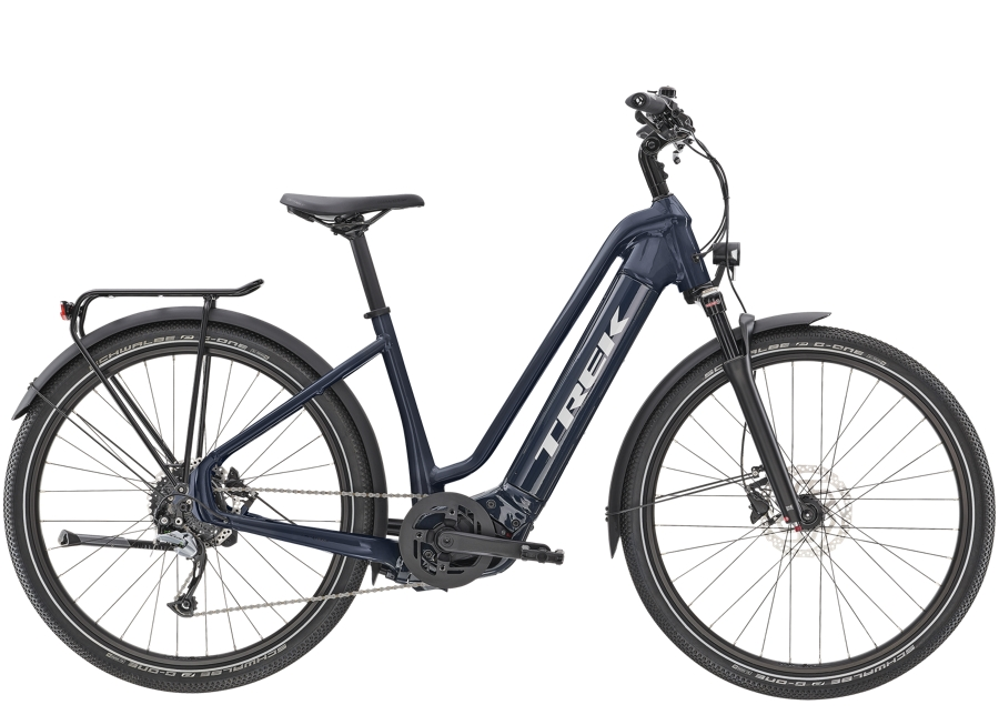 Trek Allant+ 7 Lowstep L Nautical Navy